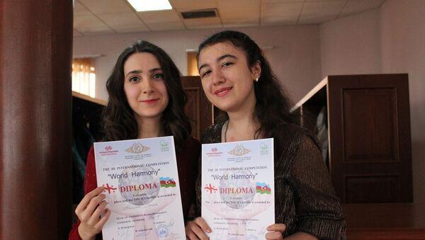 Закрытие международного конкурса молодых исполнителей классической музыки и фольклора World harmony  - Sputnik Азербайджан