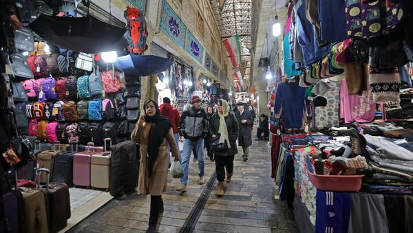 Рынок в Иране, фото из архива - Sputnik Азербайджан