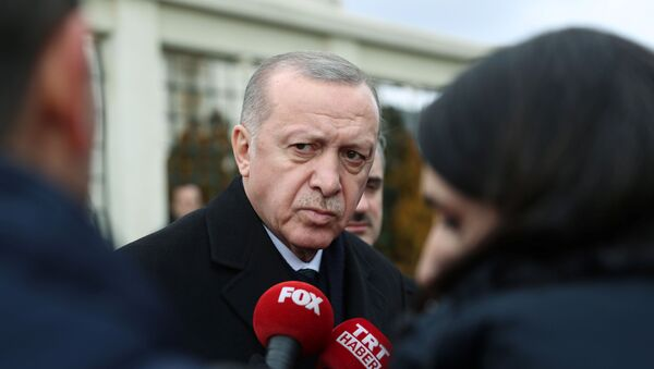 Президент Турции Реджеп Таййип Эрдоган, фото из архива - Sputnik Азербайджан