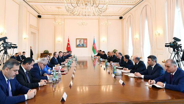 VIII заседание Совета стратегического сотрудничества высокого уровня Азербайджан-Турция - Sputnik Азербайджан