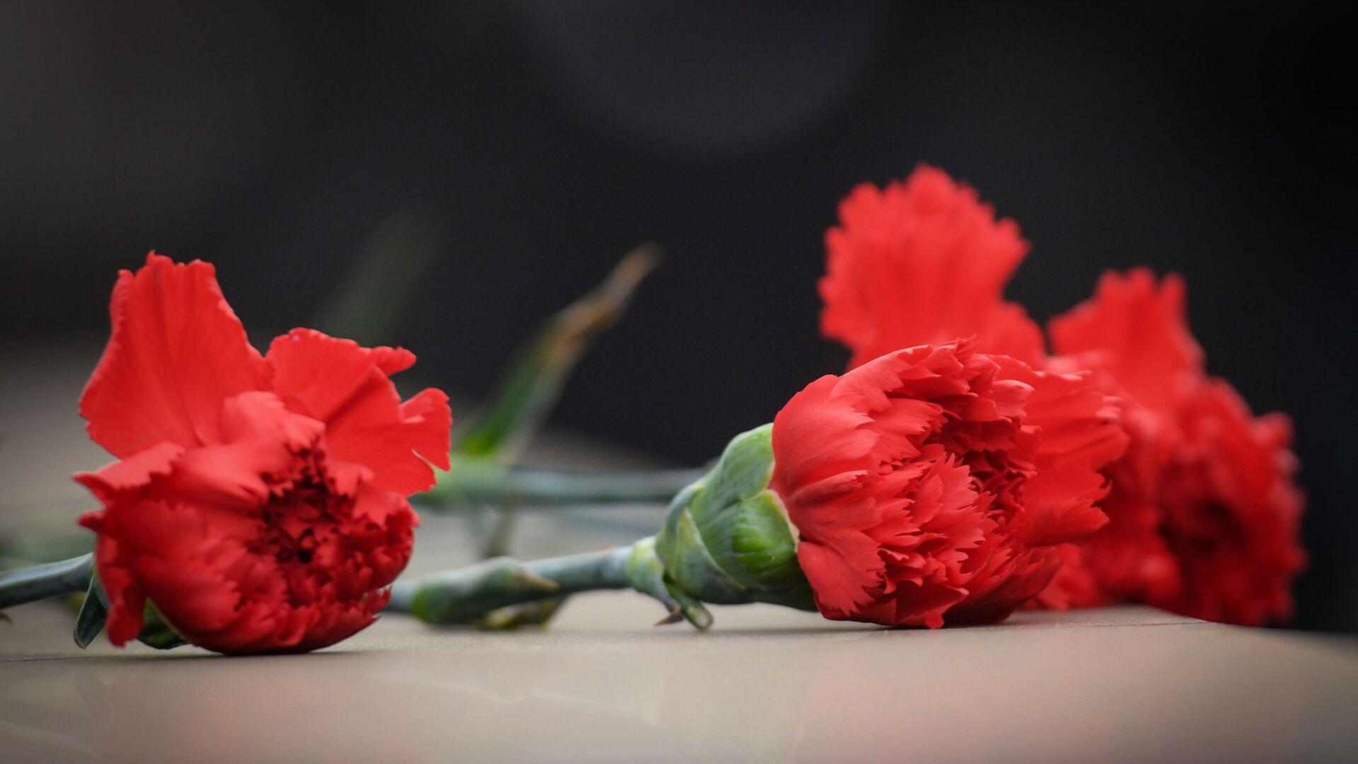 Церемония почтения памяти жертв Ходжалинской трагедии  - Sputnik Азербайджан, 1920, 26.02.2021