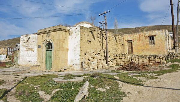 Qobuda hamamın ərazisi - Sputnik Азербайджан