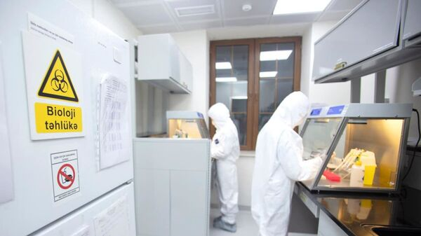 Лаборатория АПБ, фото из архива - Sputnik Азербайджан