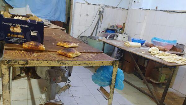 Цех по производству хачапури в Баку - Sputnik Азербайджан
