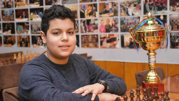 Азербайджанский шахматист Айдын Сулейманлы, фото из архив - Sputnik Азербайджан