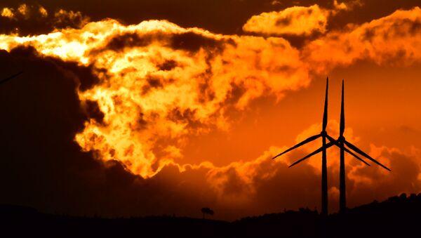 Ветряные электростанции - Sputnik Азербайджан