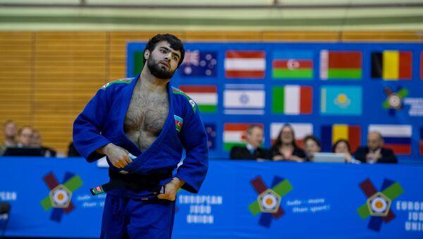 Азербайджанский дзюдоист Руфат Исмайлов, фото из архива - Sputnik Азербайджан