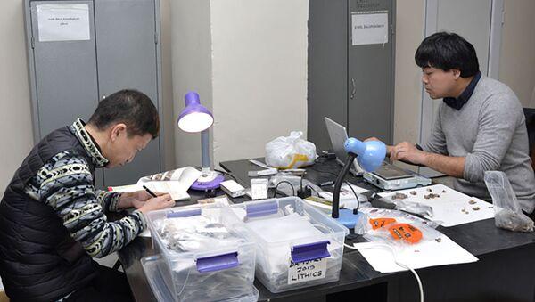Японские археологи - Sputnik Азербайджан