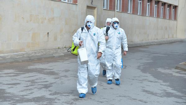Ситуация в связи с эпидемиологической обстановкой в школах - Sputnik Азербайджан