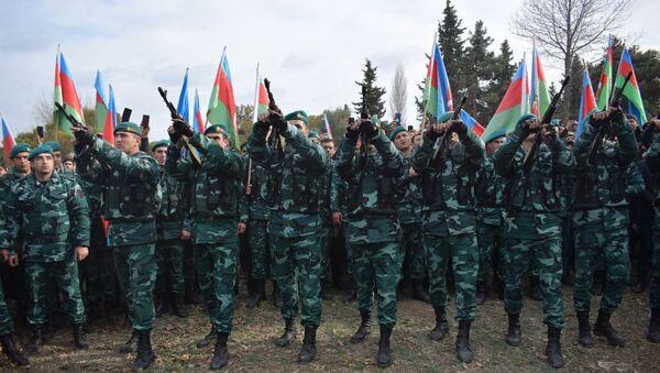 Eltun Qarayevin dəfni - Sputnik Азербайджан
