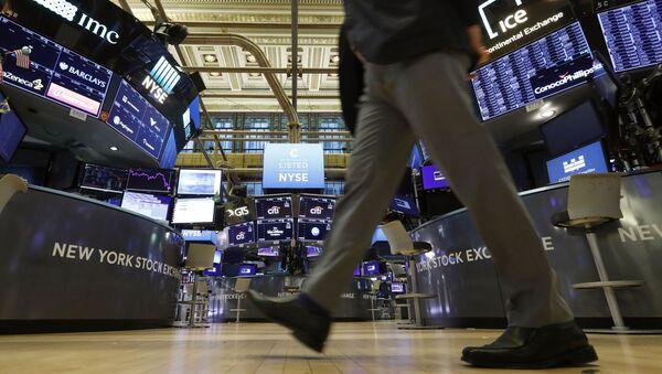 Нью-Йоркская фондовая биржа, фото из архива - Sputnik Азербайджан