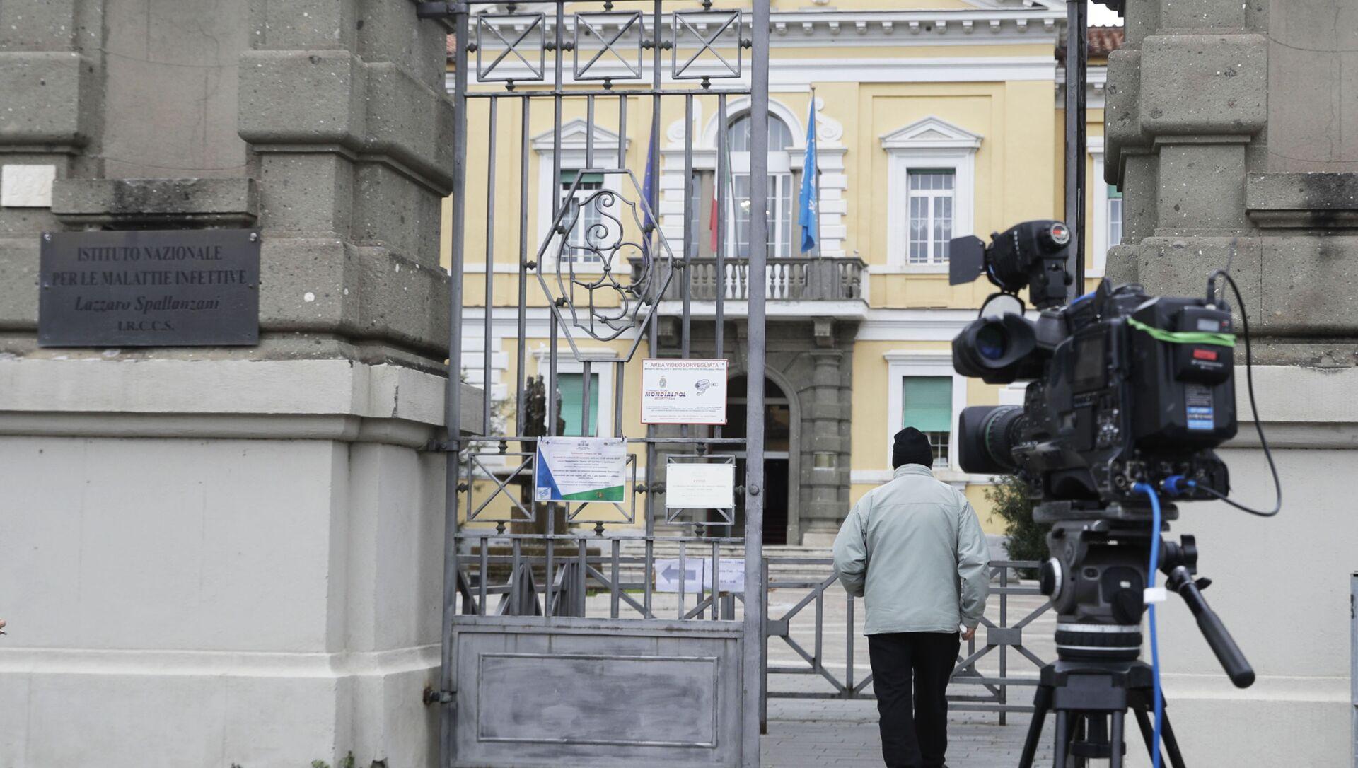 Камера в Риме, Италия - Sputnik Азербайджан, 1920, 07.04.2021
