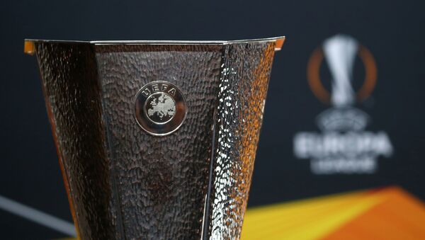 Лого УЕФА, фото из архива - Sputnik Азербайджан