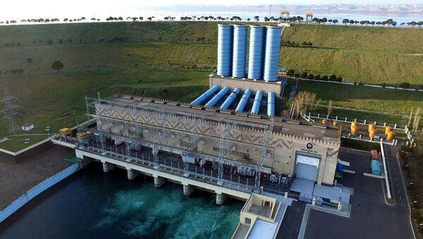 Мингячевирская ГЭС, фото из архива - Sputnik Азербайджан