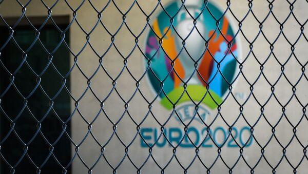 Логотип чемпионата Европы по футболу 2020  - Sputnik Азербайджан