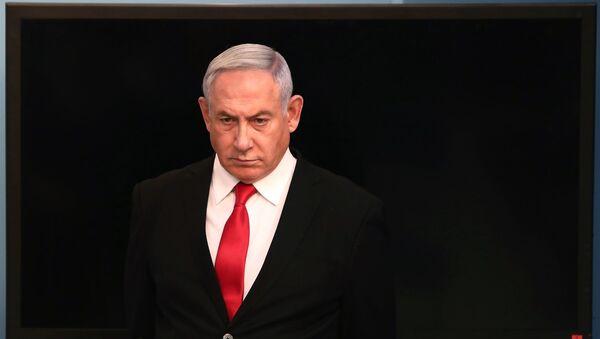 Биньямин Нетаньяху, фото из архива - Sputnik Азербайджан