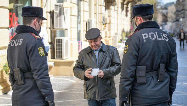 Контроль за соблюдением специального режима в Баку - Sputnik Азербайджан