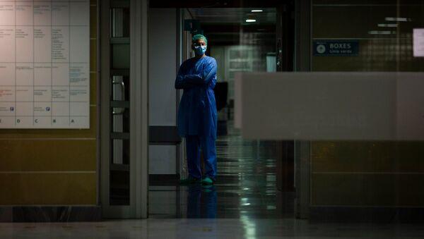 Доктор одной из поликлиник, фото из архива - Sputnik Azərbaycan