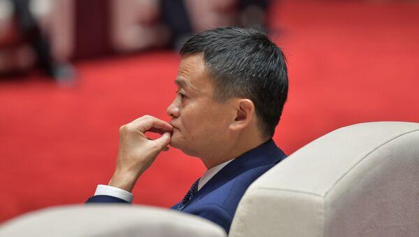Основатель Alibaba Джек Ма, фото из архива - Sputnik Азербайджан