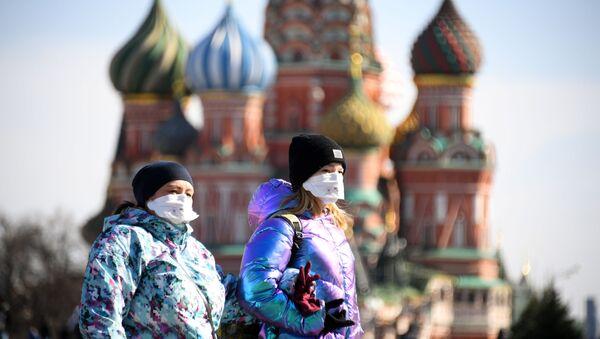 Ситуация в связи с эпидемиологической обстановкой в Москве - Sputnik Азербайджан