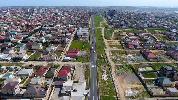 Qara Qarayev küçəsi Mehdiabad-Fatmayi-Goradil və Binəqədi-Novxanı  - Sputnik Азербайджан
