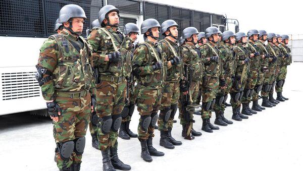 Военнослужащие Внутренних Войск АР, фото из архива - Sputnik Азербайджан