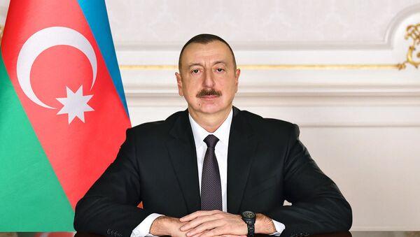 Azərbaycan Prezidenti İlham Əliyev, arxiv şəkli - Sputnik Азербайджан