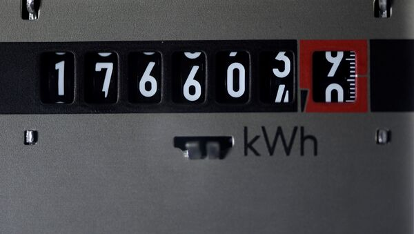 Электрический счетчик, фото из архива - Sputnik Азербайджан
