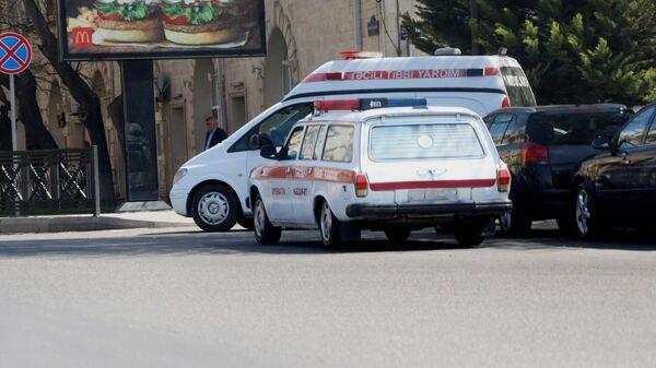 Карета скорой помощи в Баку. фото из архива - Sputnik Азербайджан