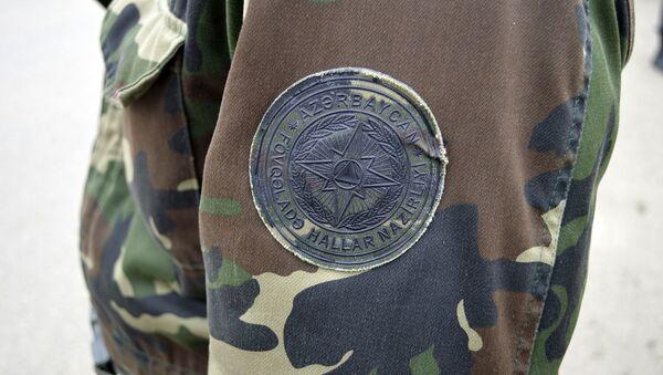 Эмблема МЧС, фото из архива - Sputnik Азербайджан