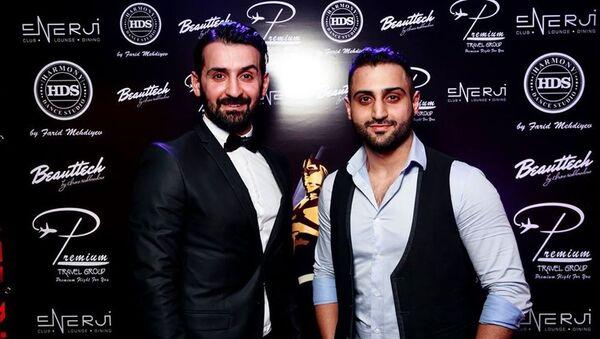 Азербайджанские танцоры, братья Фарид и Мехман Мехтиевы - Sputnik Азербайджан