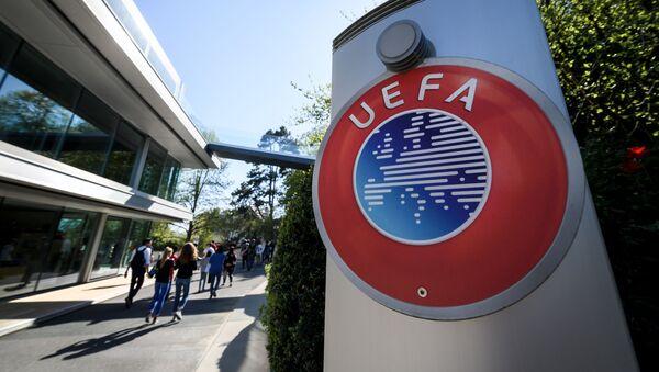 Штаб-квартира УЕФА в Ньоне, фото из архива - Sputnik Азербайджан