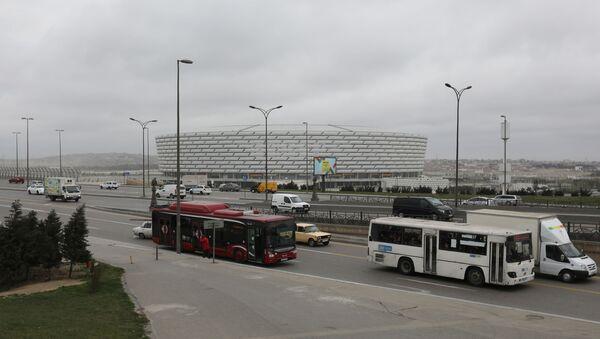 Бакинский Олимпийский стадион, фото из архива - Sputnik Azərbaycan