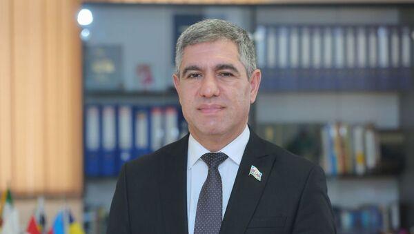 Milli Məclisin deputatı, iqtisadçı ekspert Vüqar Bayramov - Sputnik Azərbaycan