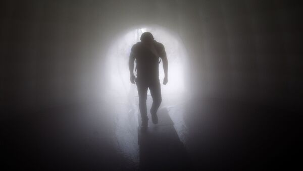 Силуэт человека, фото из архива - Sputnik Азербайджан