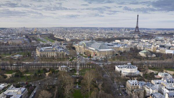 Вид на Париж, фото из архива - Sputnik Азербайджан