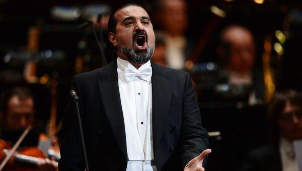 Азербайджанский оперный певец Эльчин Азизов, фото из архива - Sputnik Азербайджан