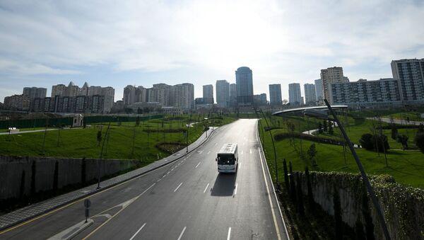 Вид на центральный парк в Баку. фото из архива - Sputnik Азербайджан