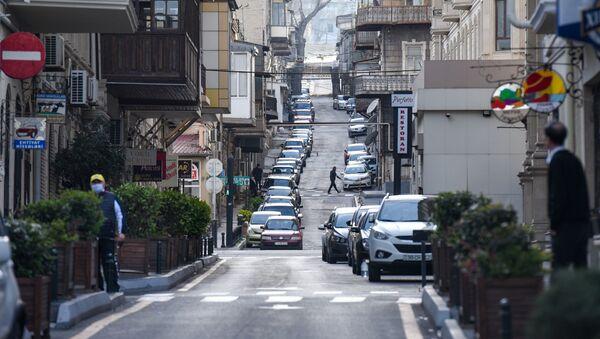 Одна из улиц в Баку - Sputnik Азербайджан
