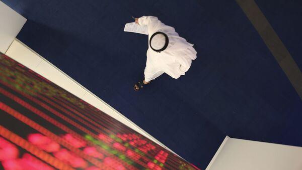 Финансовый рынок в Дубае, фото из архива - Sputnik Азербайджан