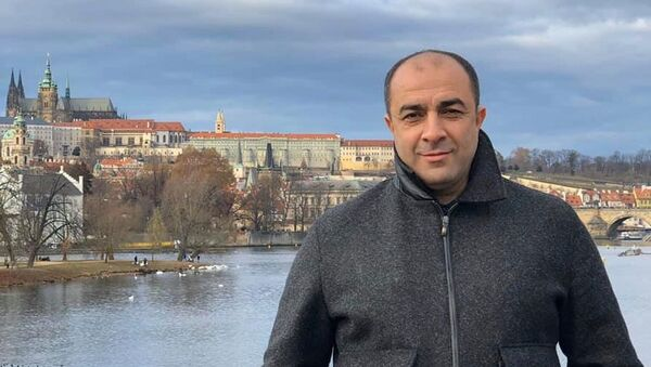 Председатель Объединенного конгресса азербайджанцев Украины (ОКАУ), руководитель Ассамблеи наций Украины (АНУ) Ровшан Тагиев, фото из архива - Sputnik Азербайджан