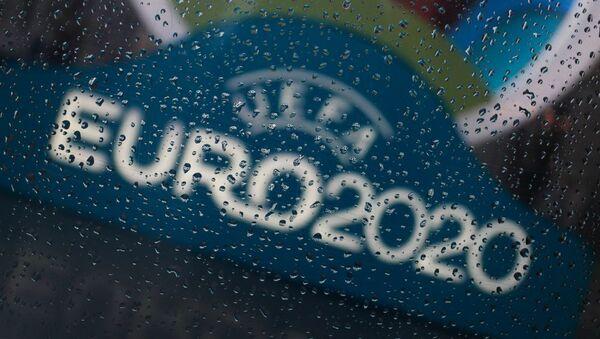 Логотип чемпионата Европы по футболу 2020, фото из архива - Sputnik Azərbaycan