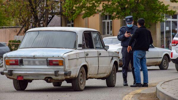 Qazaxda xüsusi rejimə nəzarət - Sputnik Азербайджан