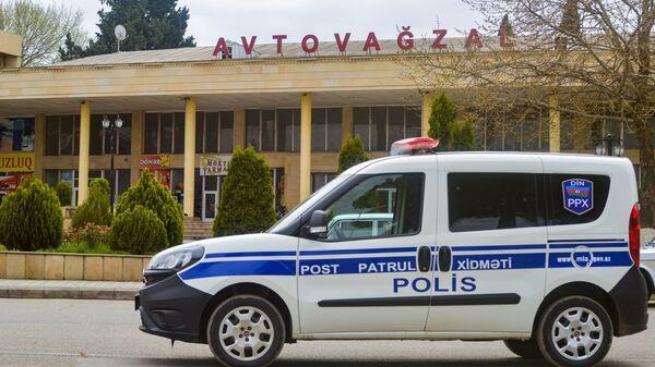 Автомобил патрульной службы, фото из архива - Sputnik Азербайджан
