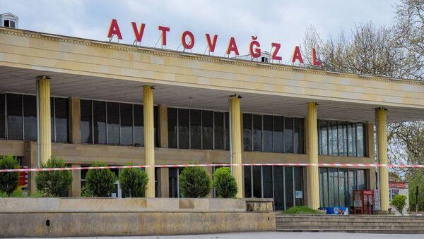 Автовокзал в Газахе, фото из архива - Sputnik Azərbaycan