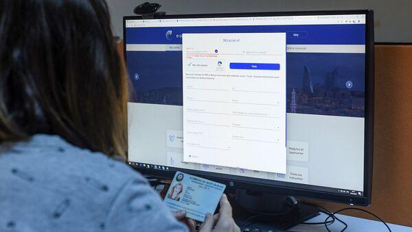 Пользователь сайта e-sosial.az - Sputnik Azərbaycan