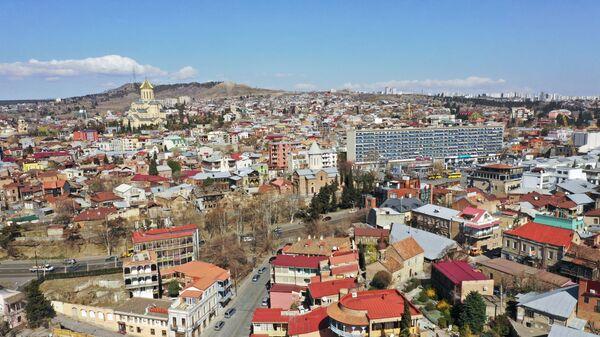 Tbilisi şəhərinə mənzərə, arxiv şəkli - Sputnik Azərbaycan