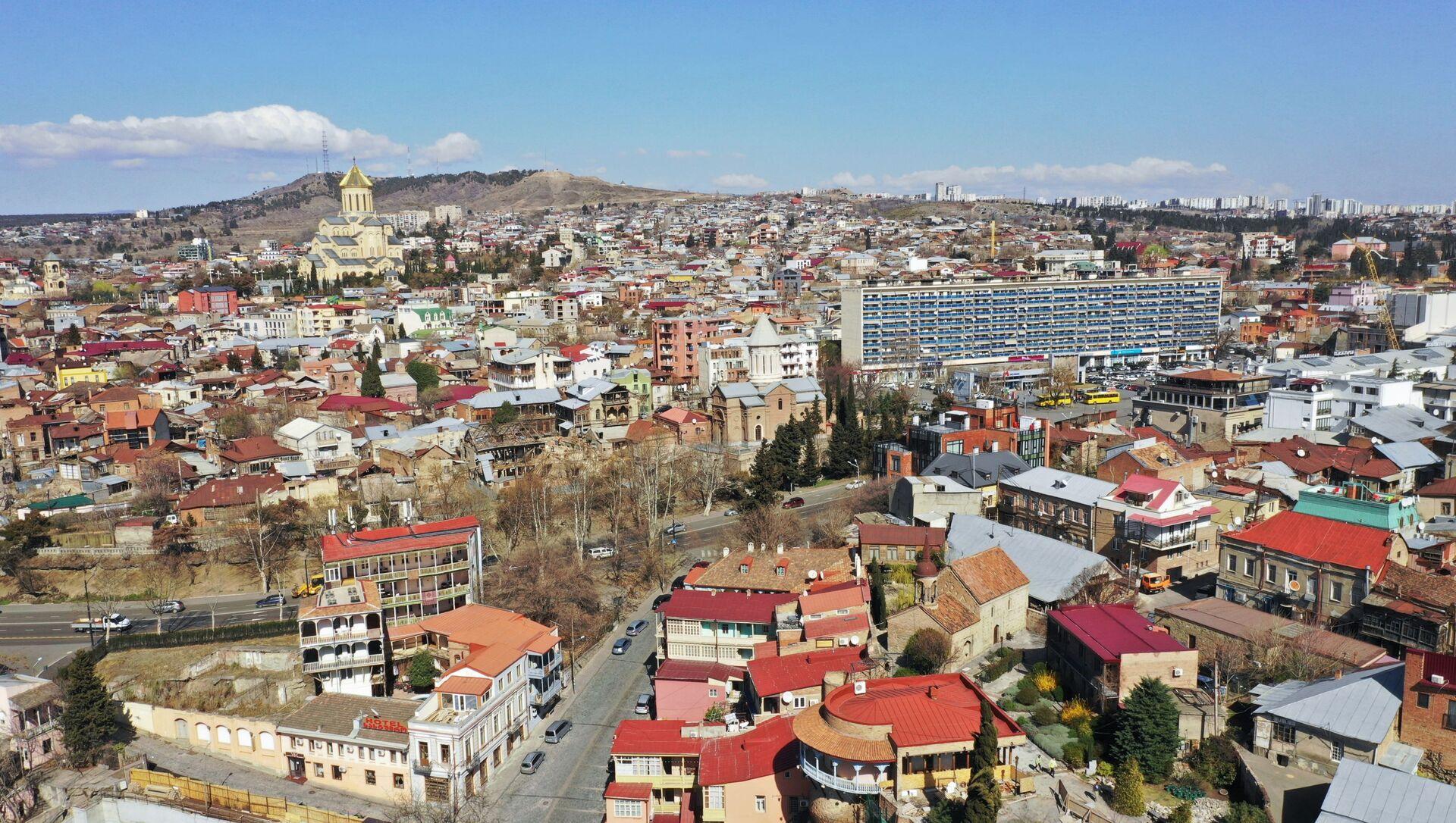 Вид на Тбилиси, фото из архива - Sputnik Azərbaycan, 1920, 13.08.2021
