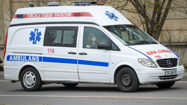 Карета скорой помощи. фото из архива - Sputnik Азербайджан