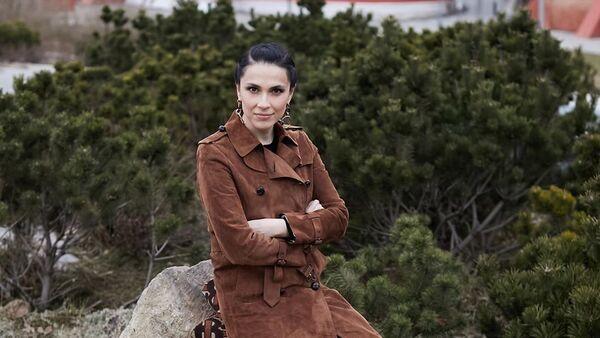 Телеведущая Наиля Аскерзаде, фото из архива - Sputnik Азербайджан